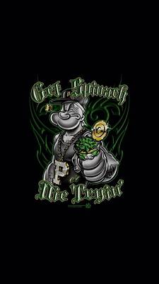 Spinach Digital Art - Popeye - Get Spinach by Brand A