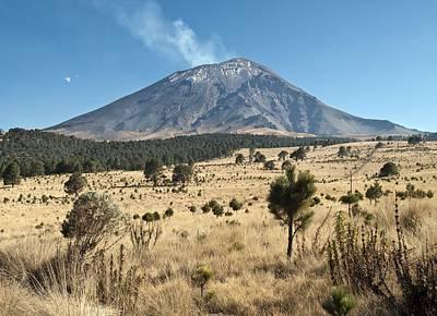 Popocatepetl Volcano, Mexico Print by Science Photo Library