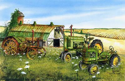 Hit Painting - Poppin John by Larry Johnson