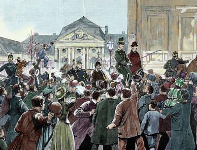 Bismarck Photograph - Popular Ovation To The Prince Bismarck by Prisma Archivo