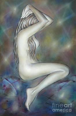 Porcelain Nude 080810 Print by Selena Boron