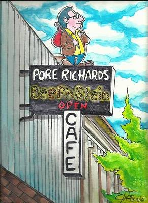 Gypsy Painting - Pore Richards by The GYPSY And DEBBIE
