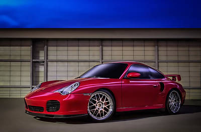 Twins Digital Art - Porsche 911 Twin Turbo by Douglas Pittman