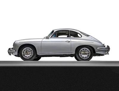 Porsche Three Fifty Six Carrera Two  Original by Gary Warnimont