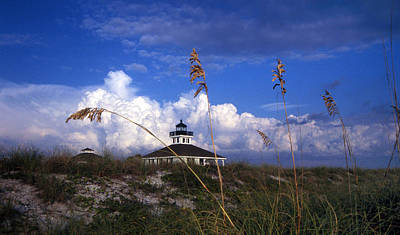 Port Boca Grande Lighthouse Print by Skip Willits