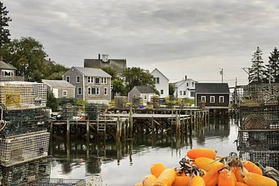 Coastal Maine Photograph - Port Clyde On The Coast Of Maine by Keith Webber Jr