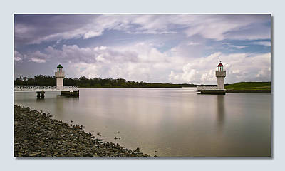 Port Macquarie 01 Print by Kevin Chippindall