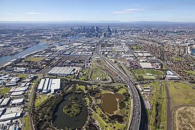 Photograph - Port Melbourne, Victoria by Brett Price