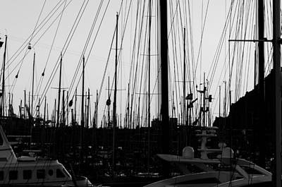 Barcelona Photograph - Port Of Barcelona by Andrea Mazzocchetti