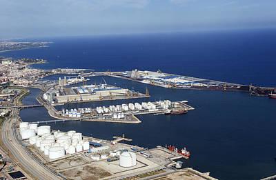 Photograph - Port Of Tarragona, Catalonia by Jordi Todó Vila