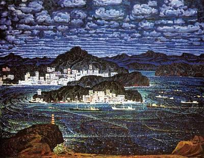 Port Of Vladivostok Print by Jake Hartz