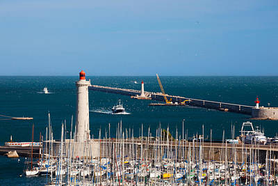 Sete Photograph - Port With The Mole St-louis Pier by Panoramic Images