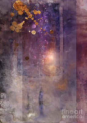 Abstraction Digital Art - Portal by Aimee Stewart