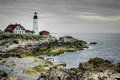 Maine Park Photograph - Portland Head Lighthouse by Joan Carroll