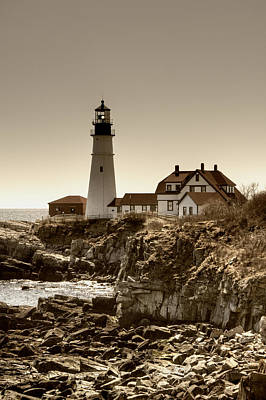 Portland Head Lighthouse Print by Joann Vitali