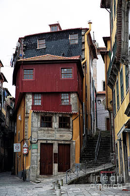 Old Home Place Photograph - Porto Architecture by John Rizzuto