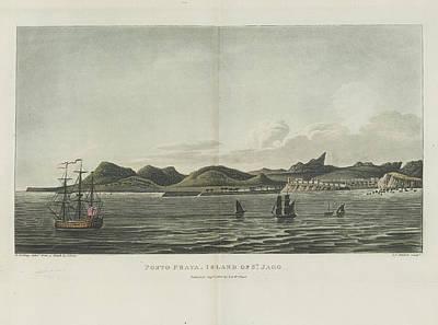 Slavery Photograph - Porto Praya by British Library