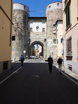 Lucca Photograph - Porto San Gervasio At Via Elisa by Panoramic Images