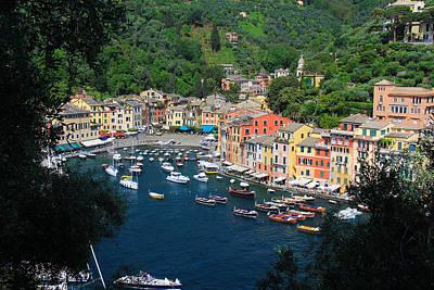 Portofino - Italy Print by Richard Krebs