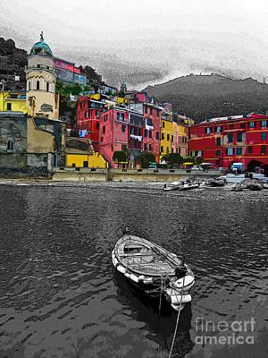 Portofino Digital Art - Portofino 4 by Gustavo Mazzoni