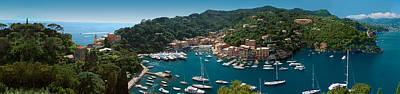 Portofino Italy Print by Al Hurley