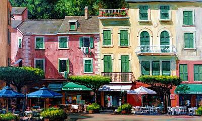 Playground Painting - Portofino by Michael Swanson