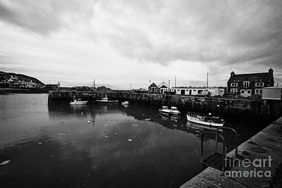 Portpatrick Harbour Scotland Uk Print by Joe Fox