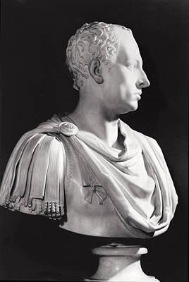 Portrait Bust Of Francis I 1708-65, Holy Roman Emperor Print by Antonio Canova