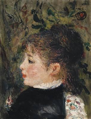 Margot Painting - Portrait De Margot by Celestial Images
