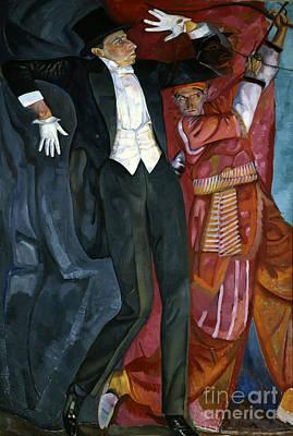 Putin Painting - Portrait Director Vsevolod Meyerhold by Celestial Images