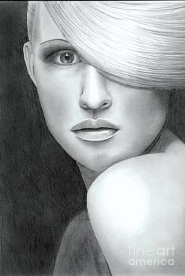 Portrait Print by Nicola Butt