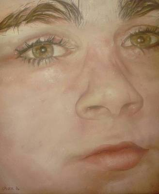 Portrait Painting - Portrait Of A Boy by Cherise Foster