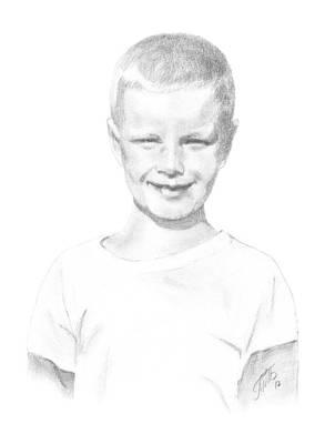 Portrait Of A Boy Original by Masha Batkova