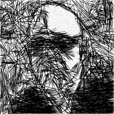 Portrait Of A Man Print by Jonathan Harnisch