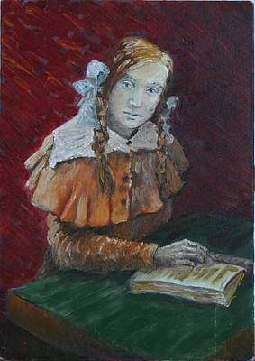 Portrait Of A Young Woman Original by Vita Schagen