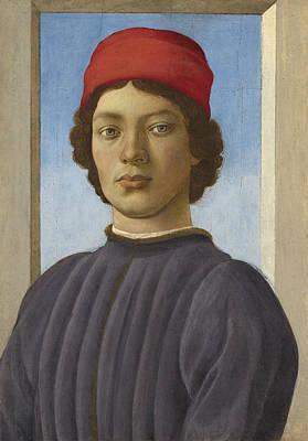 Portrait Of A Youth Print by  Filippino Lippi