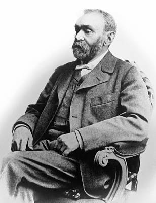 Contemplate Photograph - Portrait Of Alfred Nobel by Underwood Archives