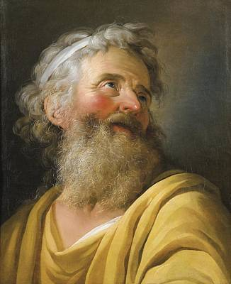 Portrait Of An Actor Print by Celestial Images