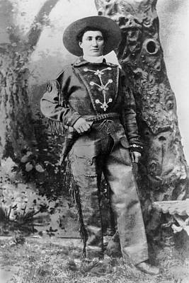 1875 Photograph - Portrait Of Calamity Jane by Underwood Archives