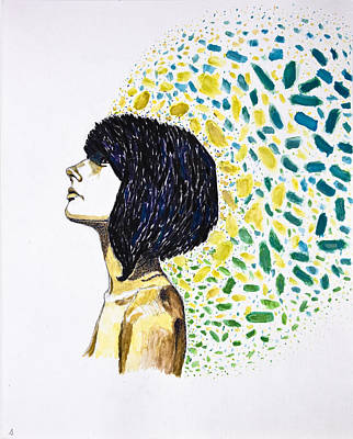 Portrait Of Cindy Clark Original by Seth Angle