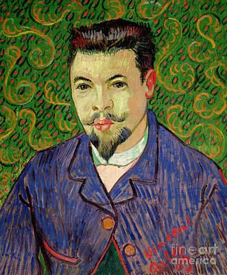 Portrait Of Dr Felix Rey Print by Vincent van Gogh