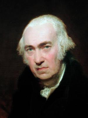 Oil Portrait Photograph - Portrait Of James Watt by Universal History Archive/uig