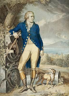 Classicism Painting - Portrait Of Johann Wolfgang Von Goethe In The Country  by Johann Heinrich Wilhelm Tischbein