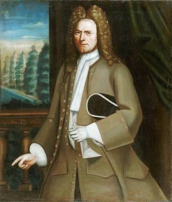 Partridge Painting - Portrait Of Johannes Ten Broeck by Nehemiah Partridge