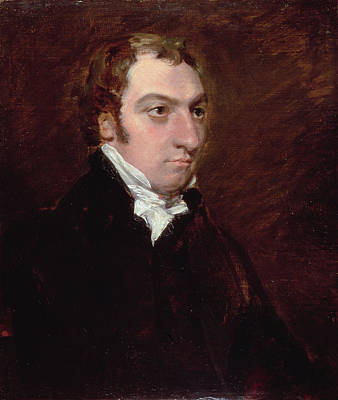 Portrait Of John Fisher, Archdeacon Print by John Constable
