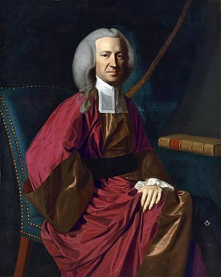 John Martin Painting - Portrait Of Judge Martin Howard by John Singleton Copley