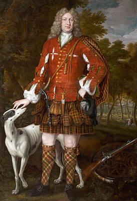 Dirk Photograph - Portrait Of Kenneth Sutherland, 3rd Lord Duffus D.1732 by Richard Waitt