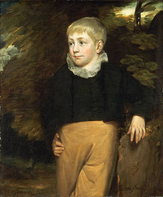 John Constable Painting - Portrait Of Master Crosby by John Constable