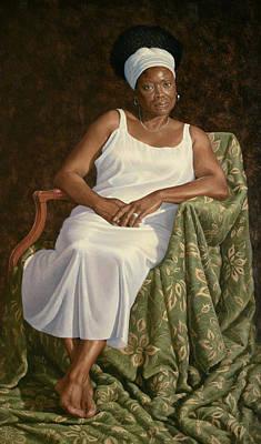 Portrait Of Shirley Original by Diane Fraser