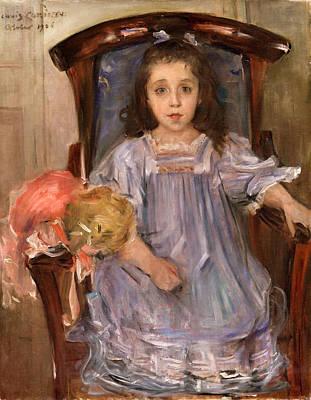 Lovis Corinth Painting - Portrait Of Sophie Cassirer by Lovis Corinth